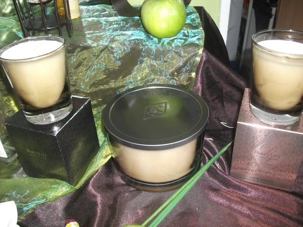 Bougies prestige for Trio miroir partylite